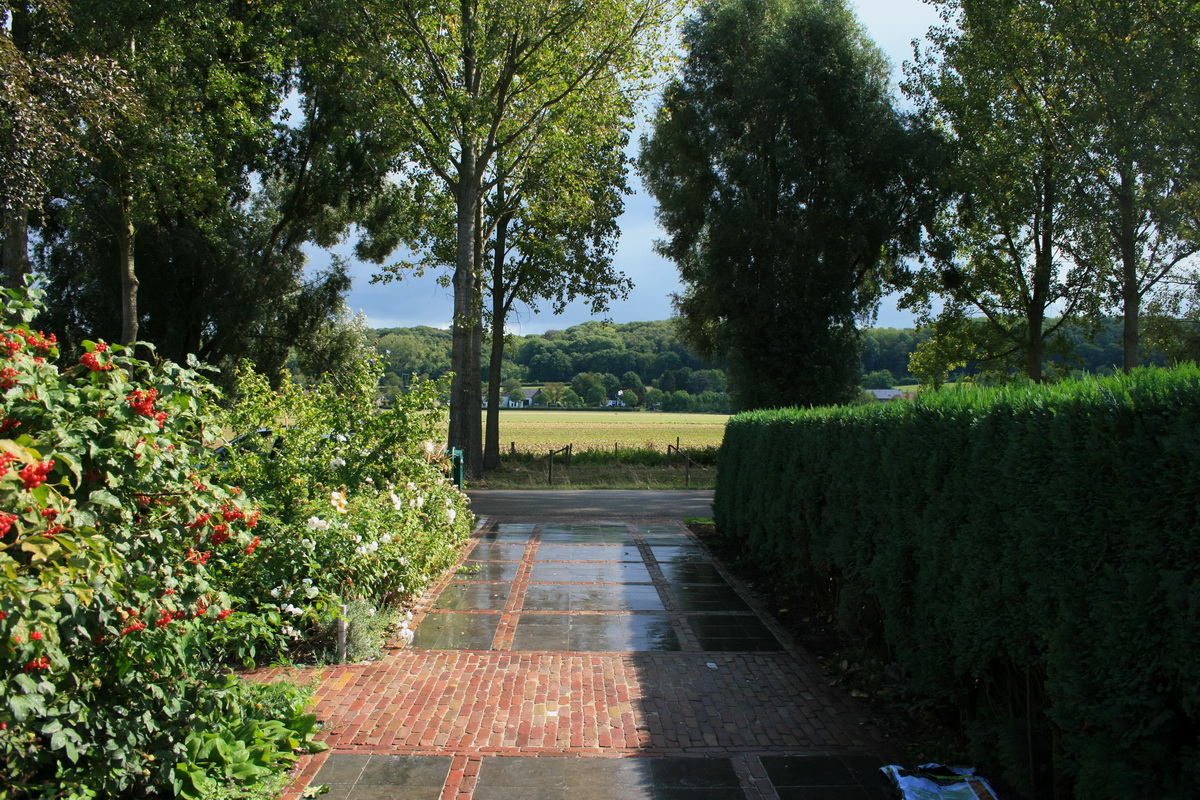 Binnenplaats tuin & oprit
