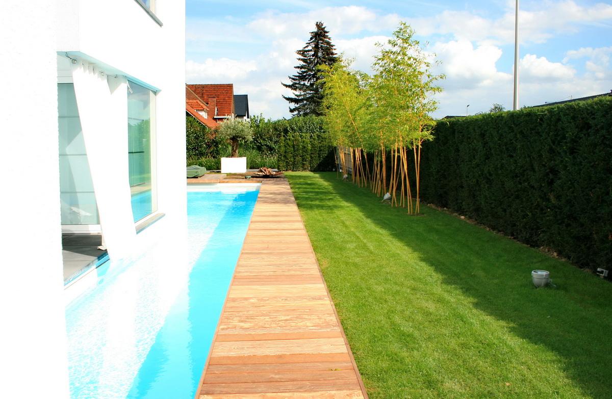Villa tuin met ruime oprit hoveniersbedrijf de ginkgo for Oprit ontwerp