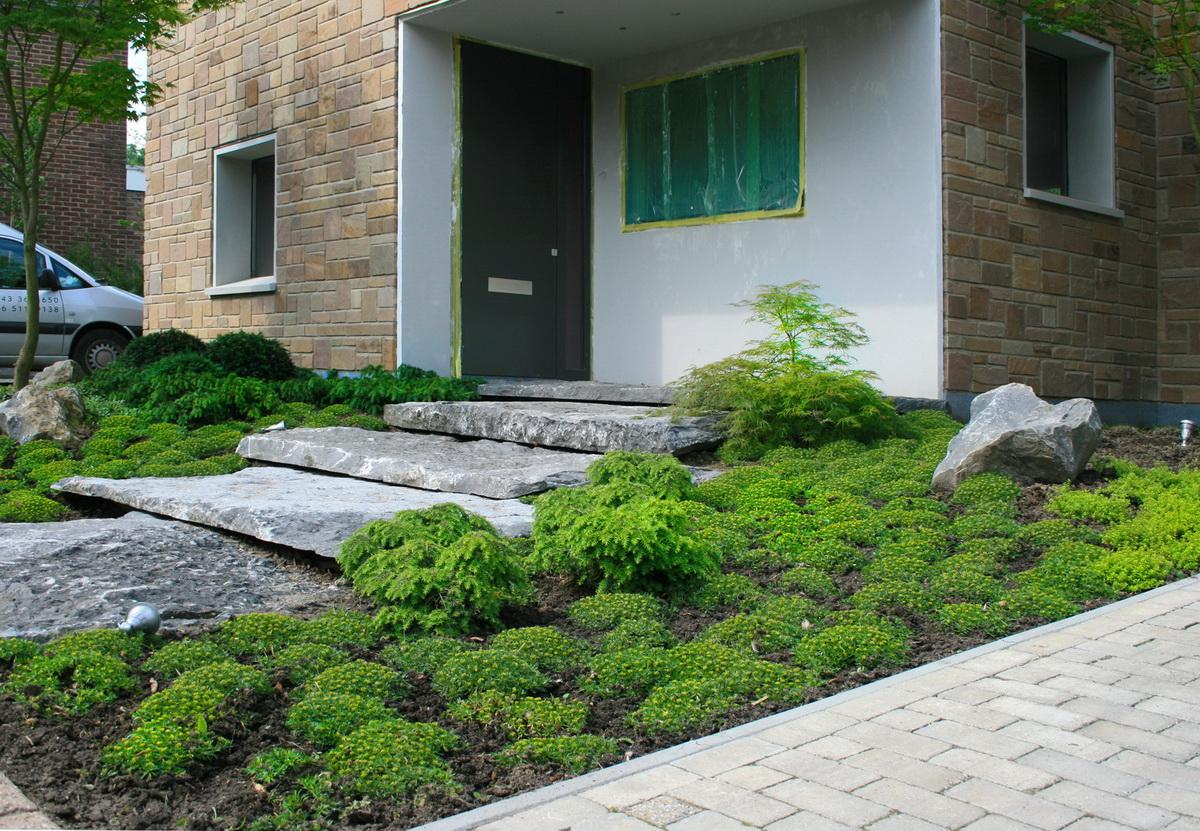 Projecten tuinontwerp tuinaanleg tuinonderhoud hovenier - Oprit idee ...