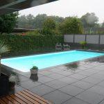 modern zwembad: zembad aanleg door hoveniersbedrijf de ginkgo