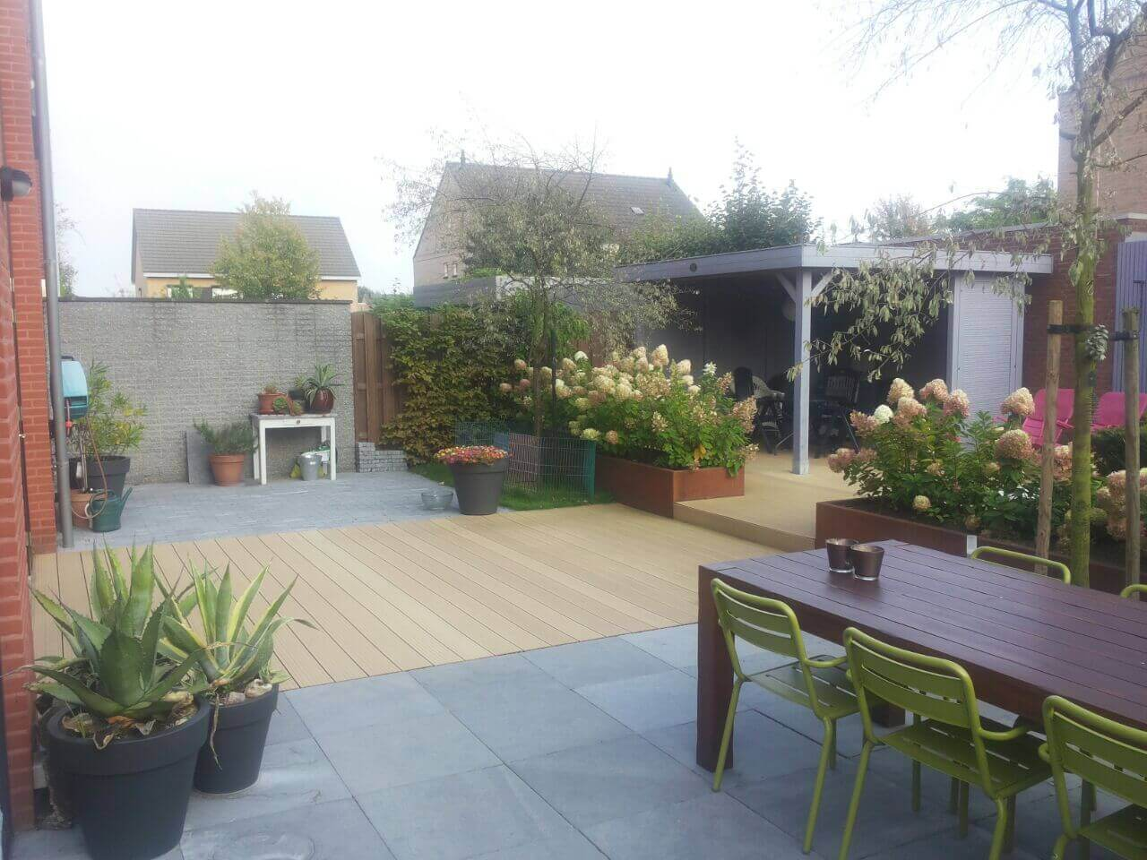 aanleg moderne tuin maastricht