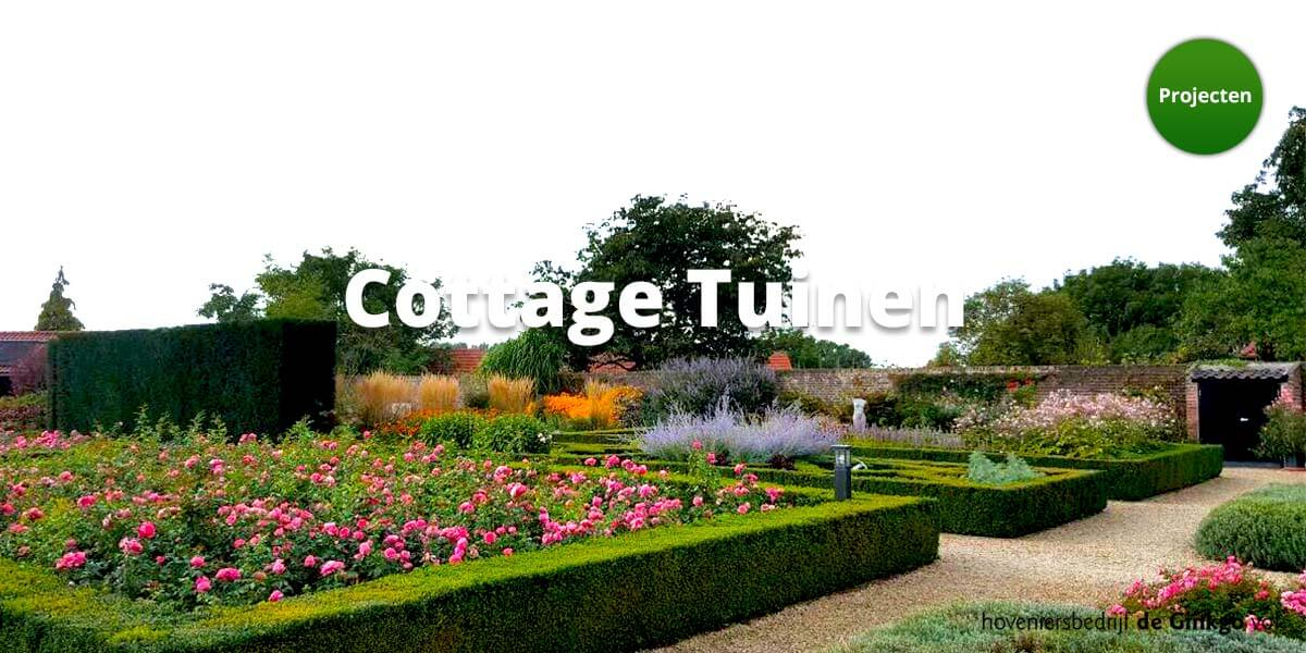 Projecten: aanleg en onderhoud van cottage tuinen