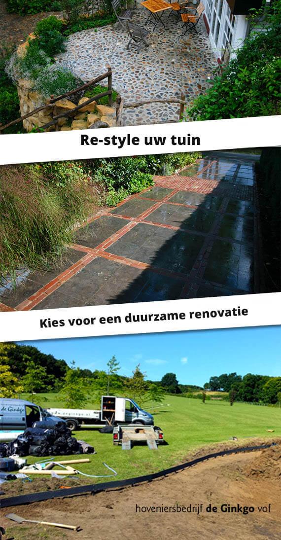 restyle of redesign uw tuin met duurzame tuinrenovatie