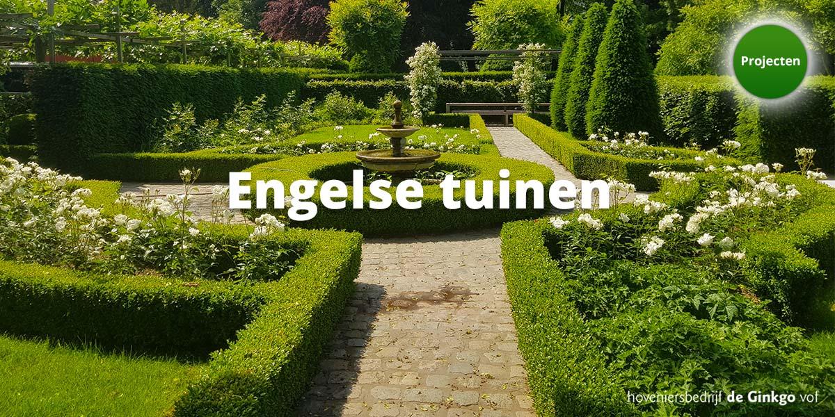 Projecten: aanleg en onderhoud van engelse tuinen