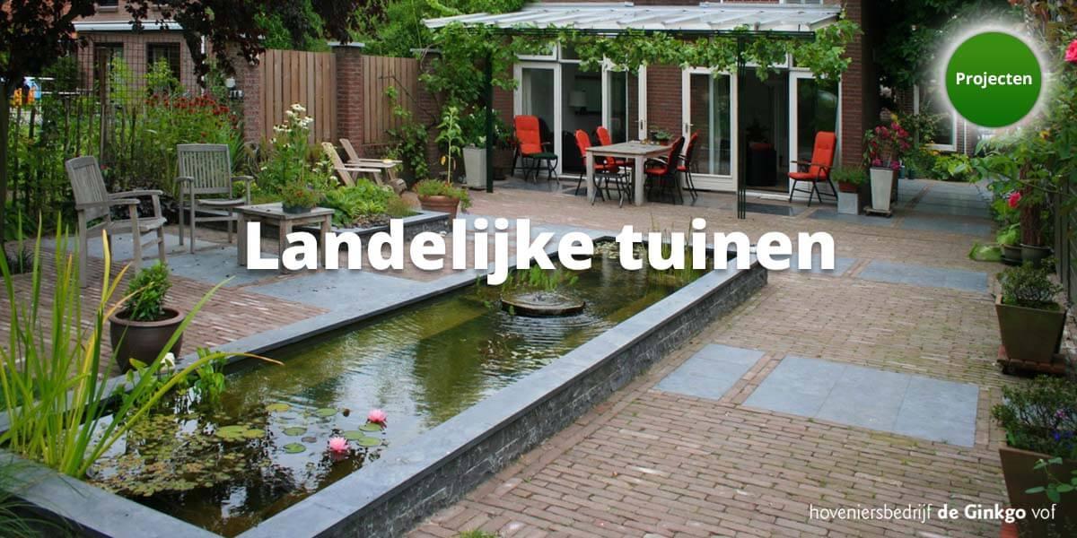 Projecten: aanleg en onderhoud van landelijke tuinen