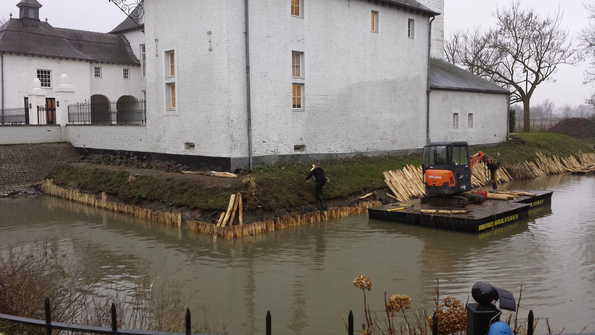 Renovatie tuinonderhoud van Kasteeltuin Limburg