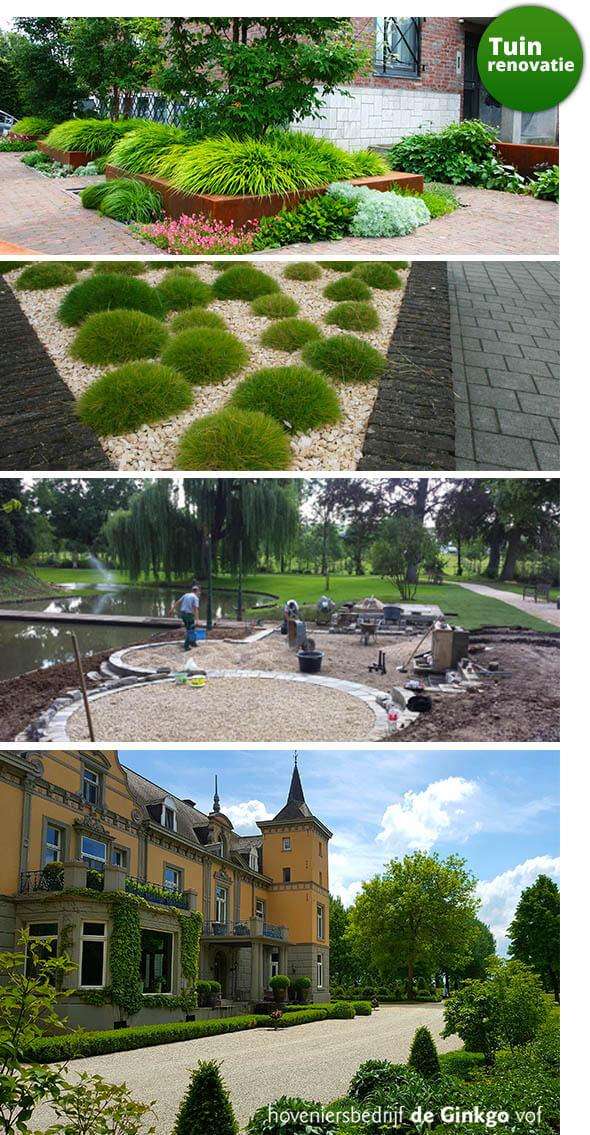 voorbeelden van tuinrenovatie