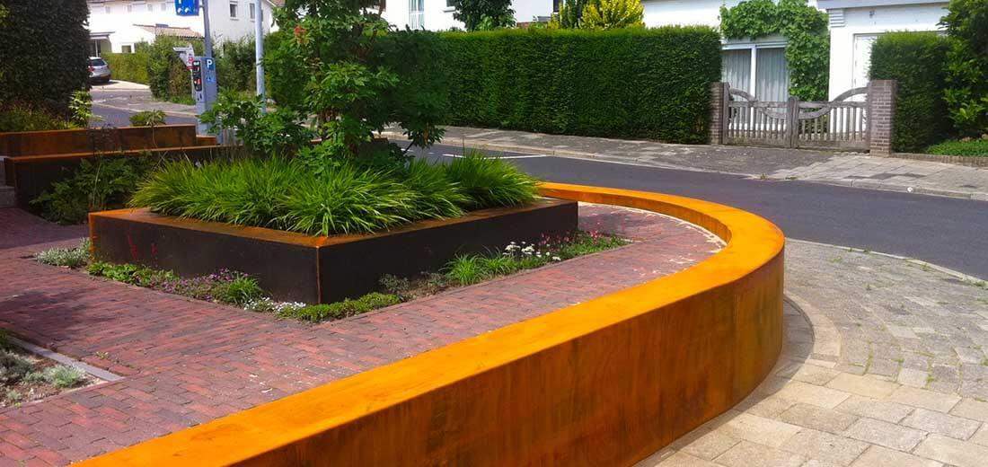 tuinrenovatie service, voorbeeld van voortuin